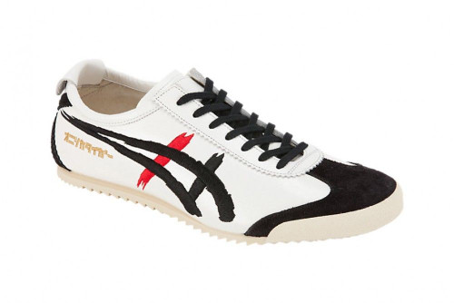 detailed look 9f607 a6d2a ASICS Onitsuka Tiger TH6A4L MEXICO 66 DELUXE White Black Kabuki Men Shoes  27cm