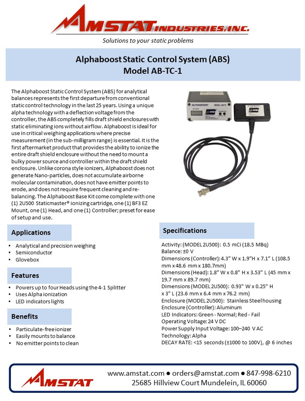 Alphaboost Static Control System (ABS)