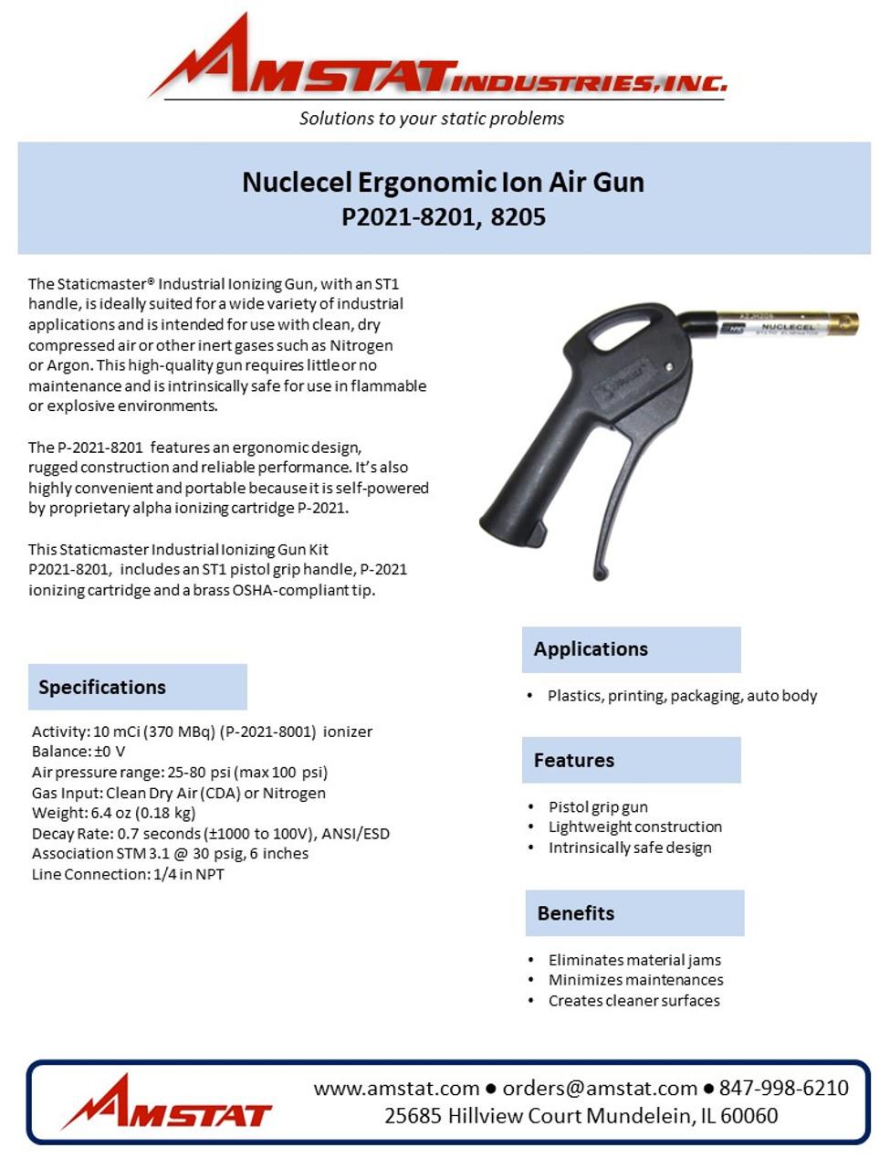 Nuclecel Ergonomic Ion Air Gun