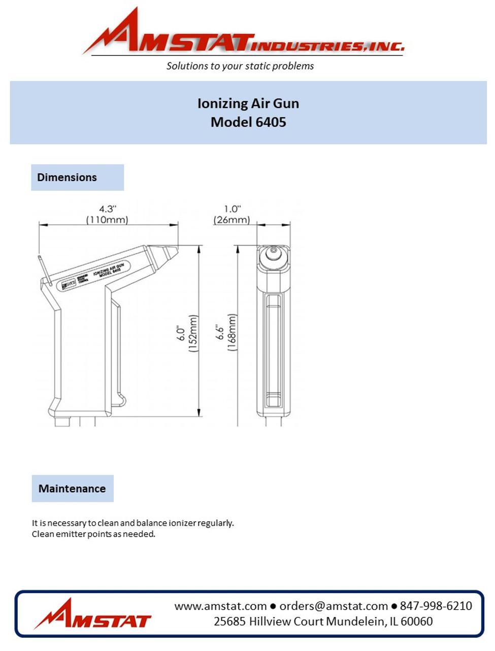 Electrical Handheld Air Ionizer
