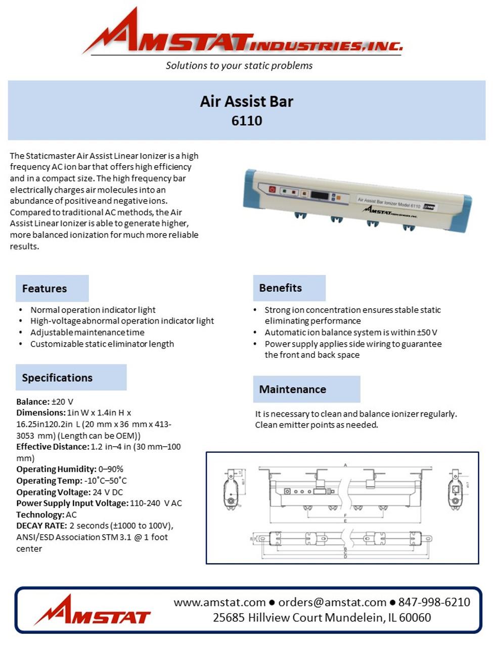 Air Assist Bar