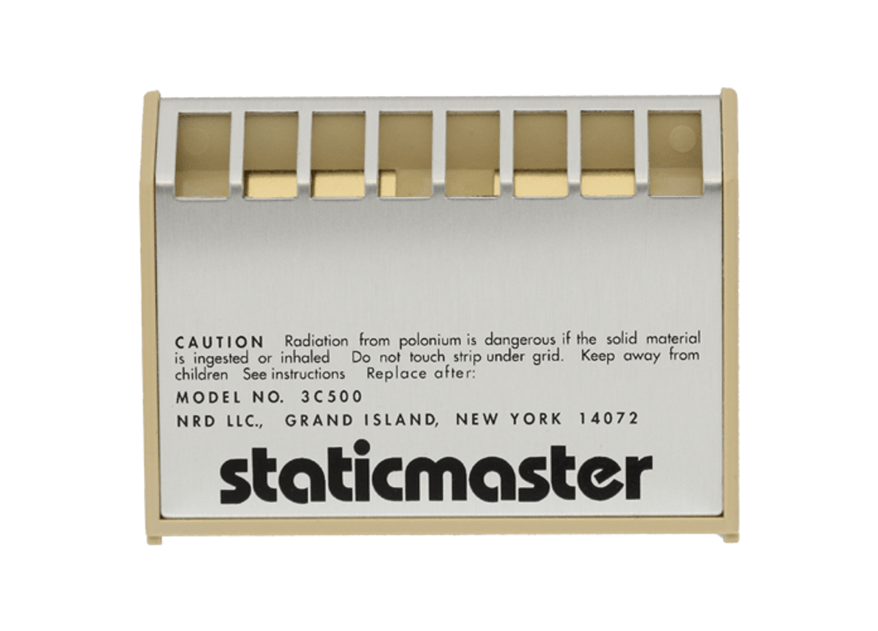 "Anti-Static Brushes Replacement Cartridge - 3"""