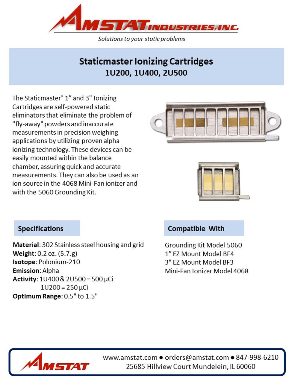 Staticmaster Ionizers