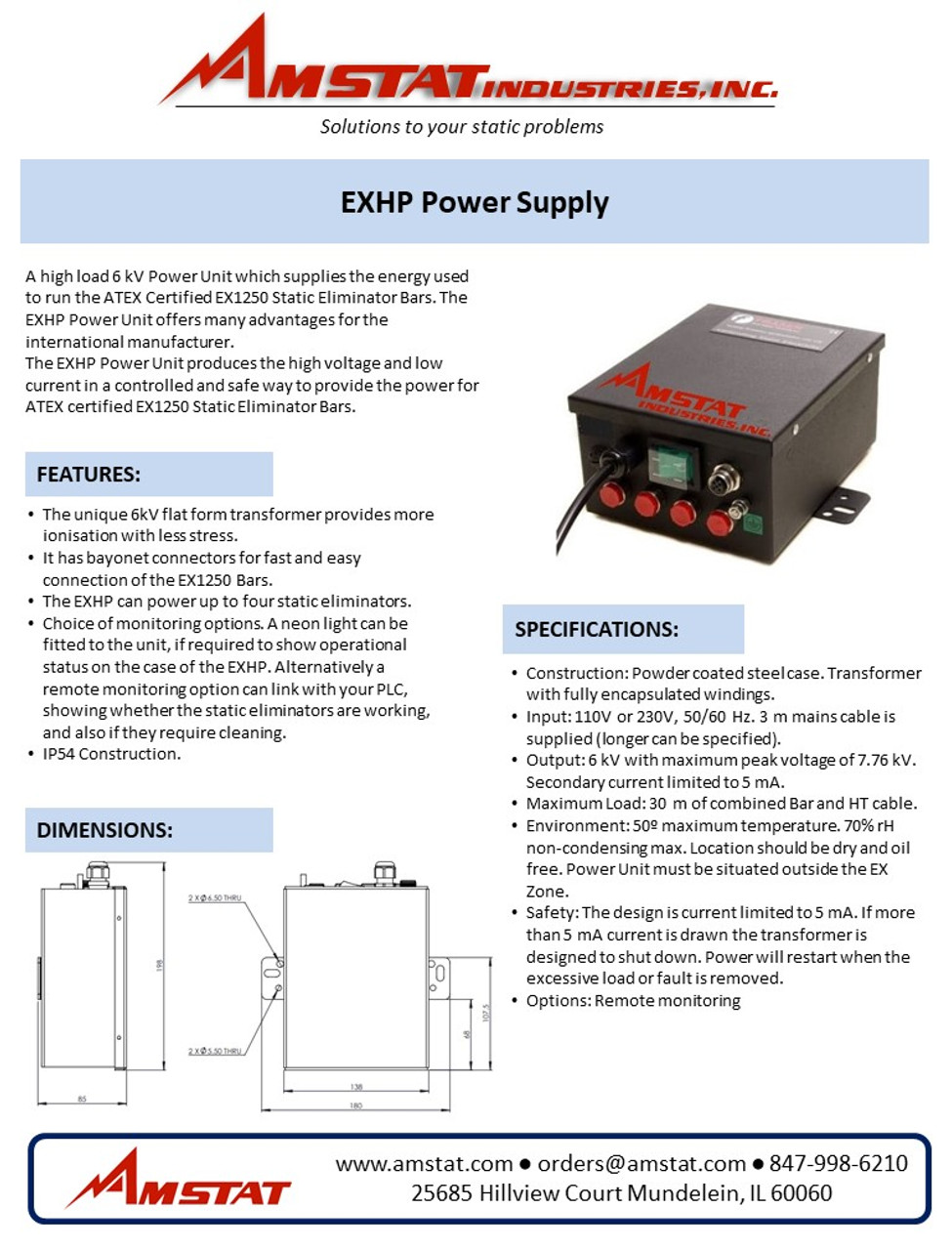 EXHP Power Supply