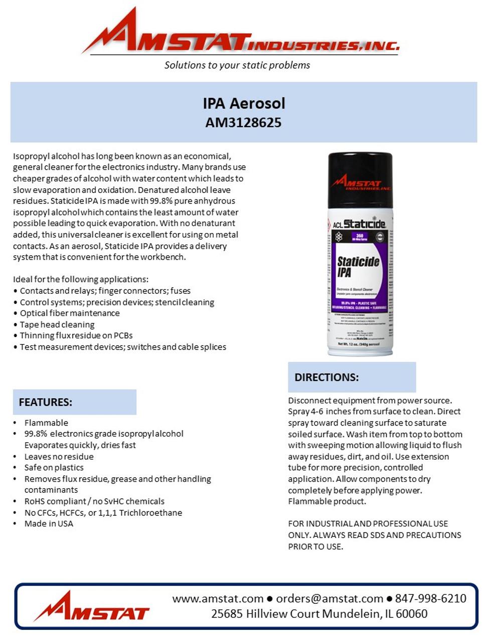 IPA Aerosol Can