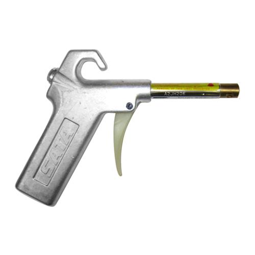Nuclecel Ergonomic Air Gun in Stainless Steel
