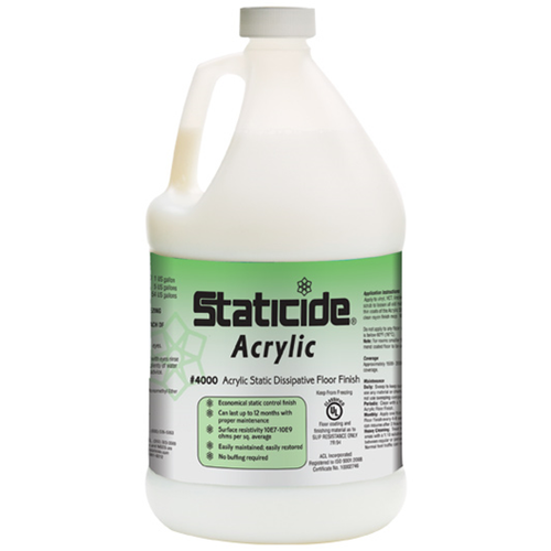 Staticide Acrylic Floor Finish (1 Gallon/Case of 4)