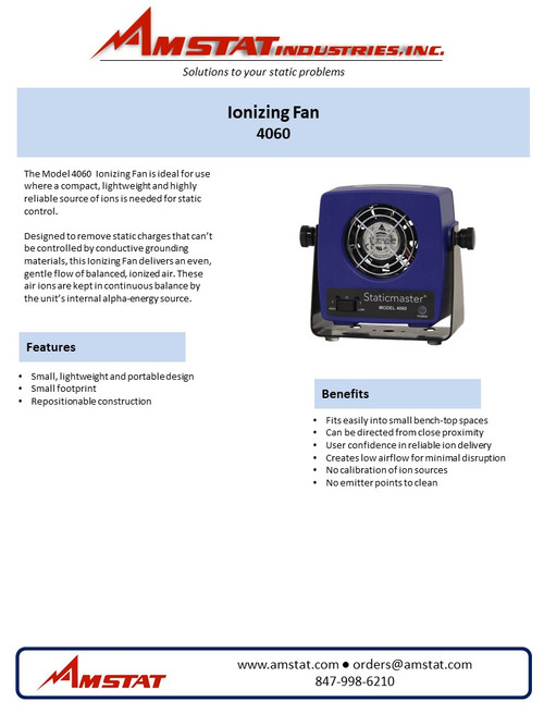 Staticmaster Ionizing Fan Kit (With Ionizers)