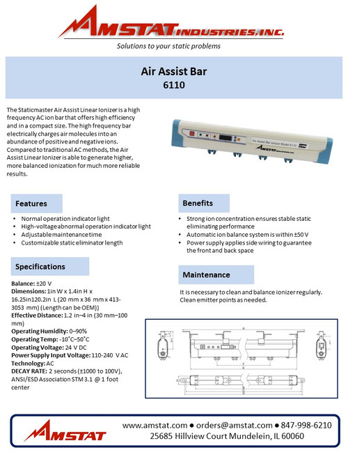 Air Assist Bar