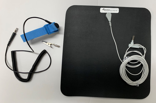 Anti-Static Grounded Mouse Pad Kit