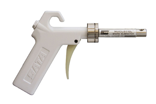 Cleanroom Ionizing Gun, Aluminum Handle