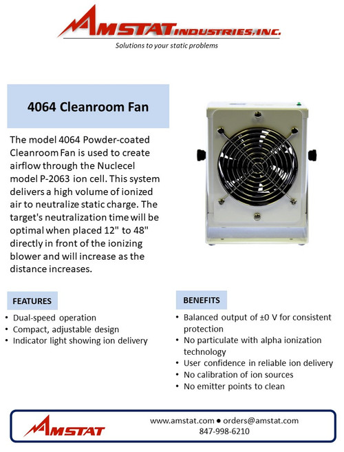 Clean Room Fan Kit (With Ionizer)