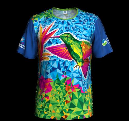 Men's Hummingbird Short-sleeved running shirt