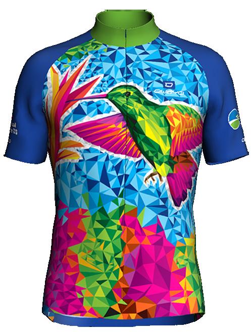 Hummingbird Bike Jersey (Front)