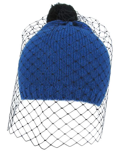 Veil Beanie - Blue