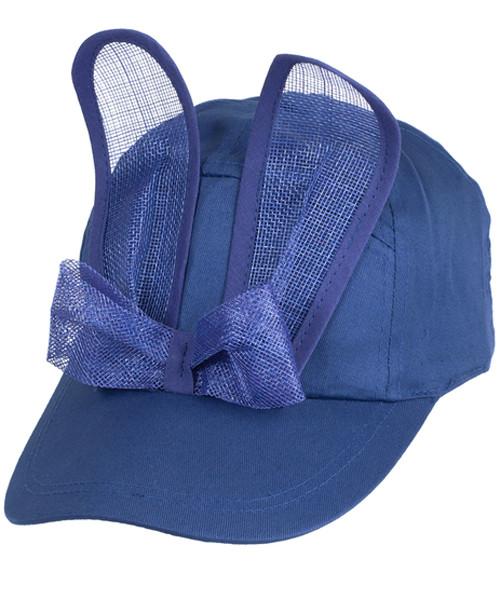 Mesh Bunny Cap - Blue