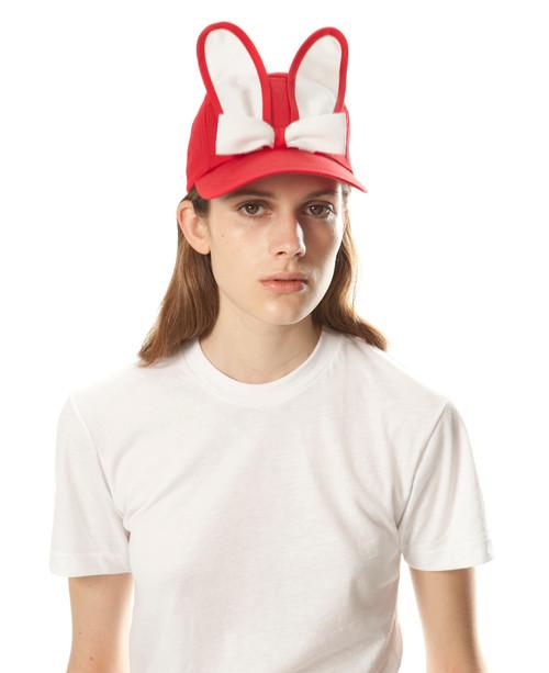 Classic Bunny Cap - Red