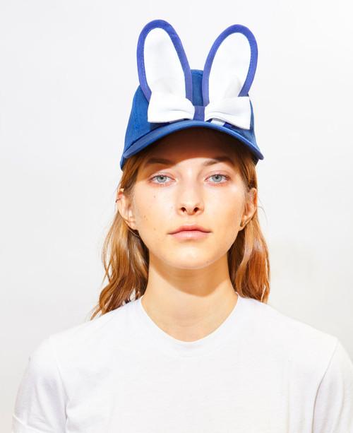 Classic Bunny Cap - Blue