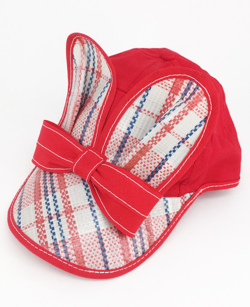 Bag Mouse Cap -Red