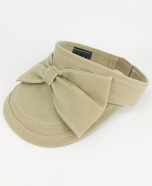 Canvas Visor - Beige