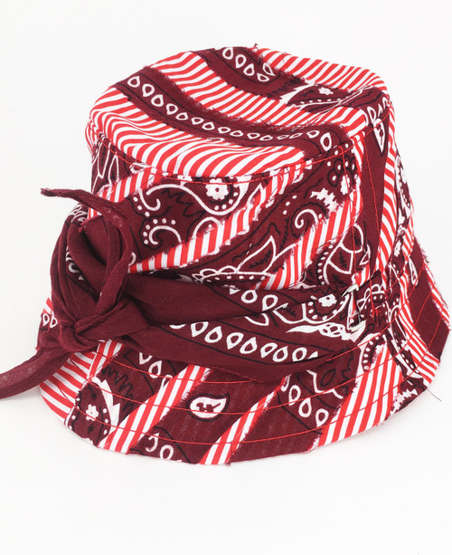 Bandana Hat - Red