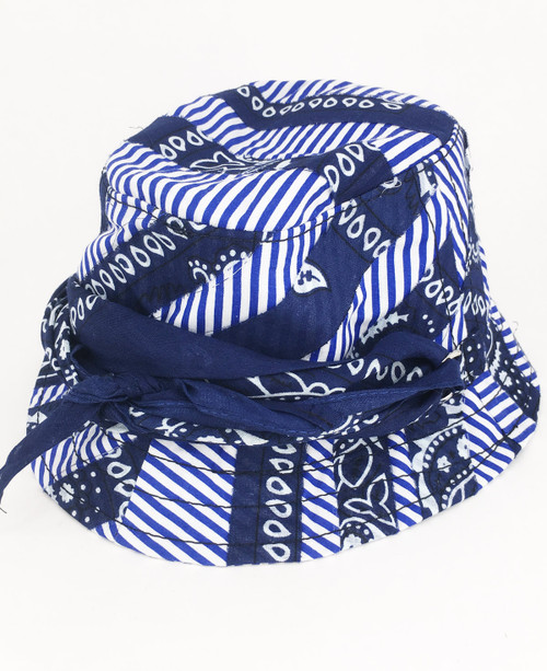 Bandana Hat - Blue