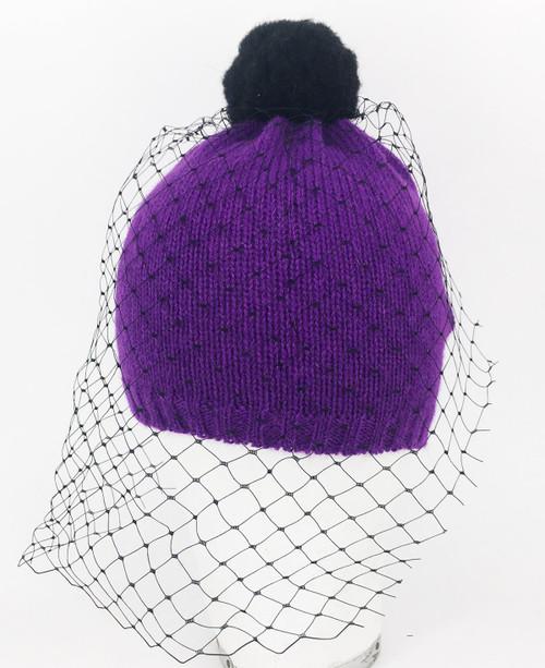 Veil Beanie - Purple