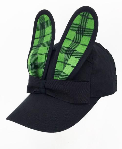 Check Bunny Cap - Green