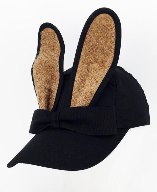 Mohair Bunny Cap - Tan