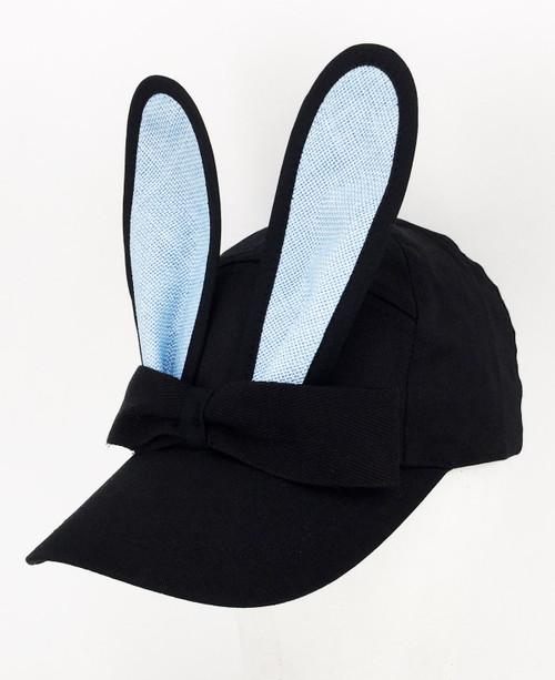Straw Bunny Cap - Blue