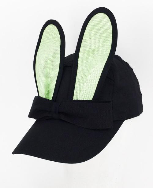 Straw Bunny Cap - Mint