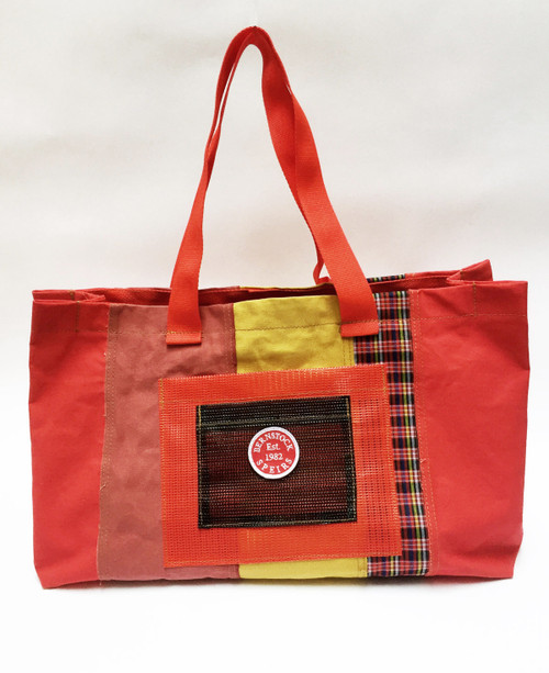 Mix Large Tote - Red