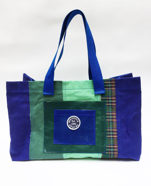 Mix Large Tote - Blue