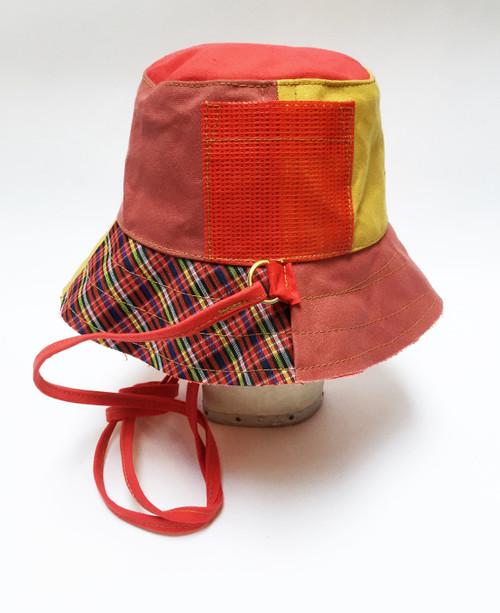 Mix Bucket Hat - Red