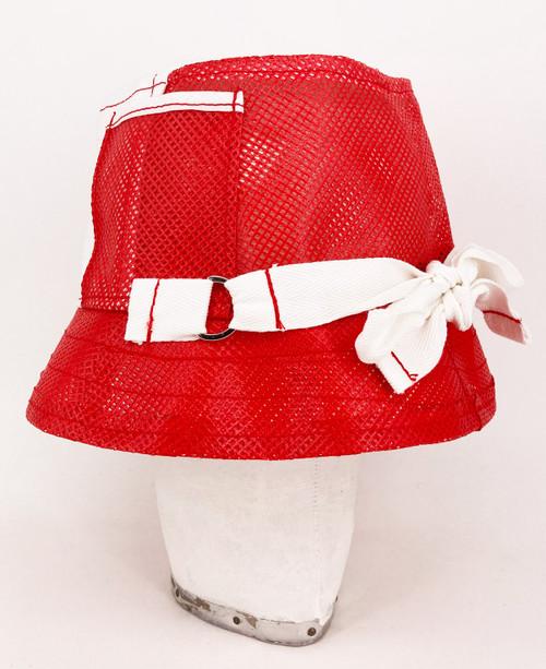 Trucker Hat - White/Red