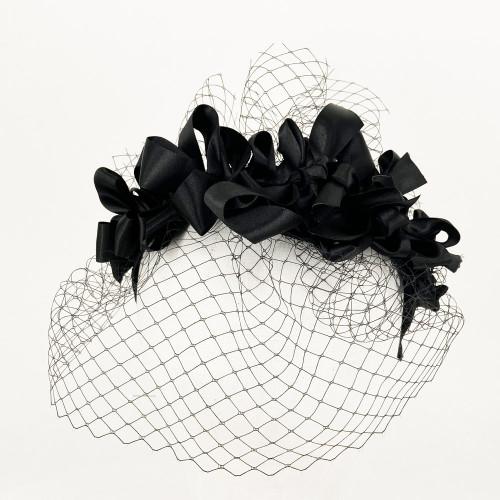 Ribbon Headband - Black