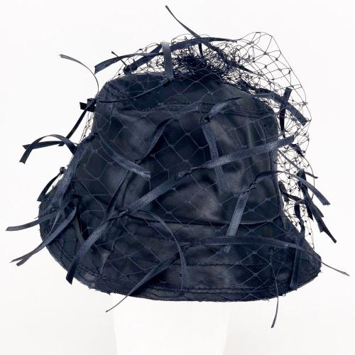 Ribbon Hat - Black