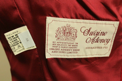 SWAINE ADENEY ROYAL WARRANT EQUESTRIAN SIZE 14 SHOW JUMPING RIDING JACKET