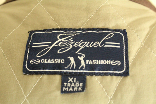 JEZEQUAL CLASSIC SPORTING XLARGE GOLFING SHOOTING TARTAN QUILTED VEST *RARE*