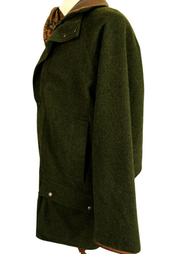 """VINTAGE MASCOT LARGE 44-46"""" GREEN SHOOTING COUNTRY FIELD COAT"""