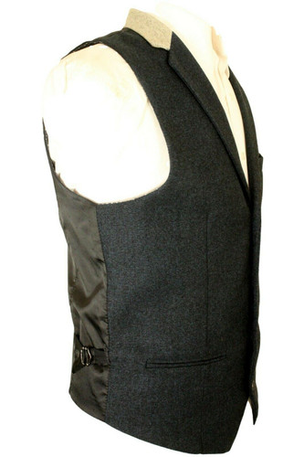 """MARC DARCY BLUE SIZE 40"""" COLLARED WAISTCOAT"""