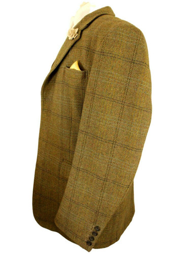 """HIGGINS AND BROWN SAVILE ROW SIZE 40"""" TAILORED 2-PEICE SUIT WAISTCOAT & JACKET"""