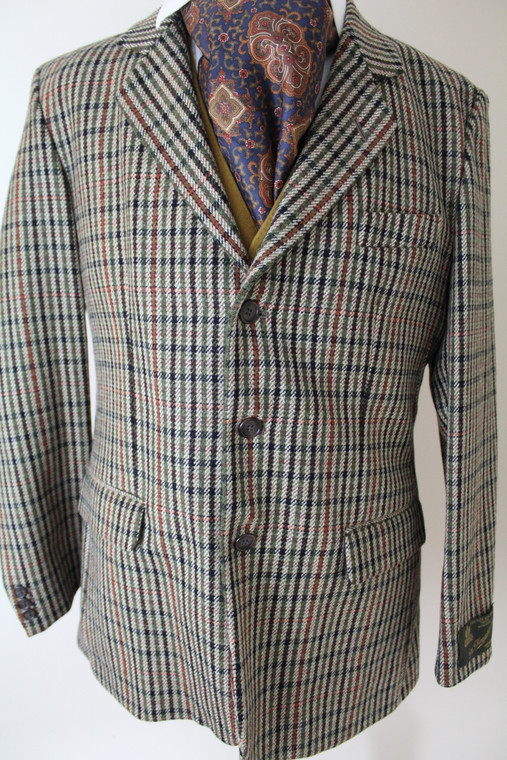 Vintage Haggart Scottish 40 Men S Country Tweed Jacket