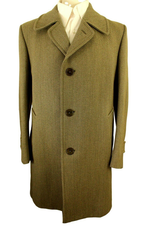 """VTG KEEPERS TWEED TAILORED 36-38"""" SMALL HACKING RIDING HUNTING COAT *RARE*"""