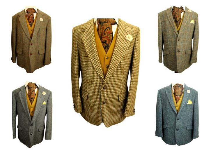 Live for Tweed ,Tweed Jackets at Kyre Park Antiques Barn
