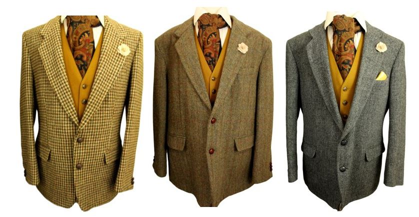 Vintage Harris Tweed Jackets