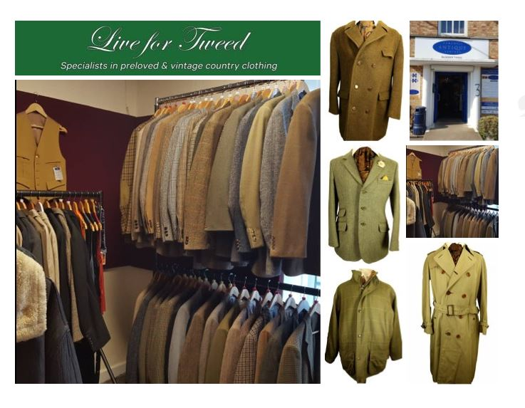Hemswell Antiques - Live for Tweed
