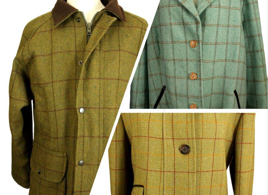 Ladies Vintage Tweed Jackets