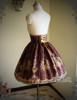 Last Chance: Rococo Lolita Elegant Gothic Steel Boned High Waist Skirt*4colors Instant Shipping
