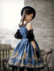 Model Show (Dark Blue Ver.) Dress DR00190